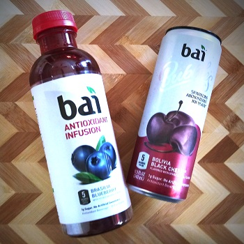 Beat the Diet Blues Bai Antioxident Infusion Drinks